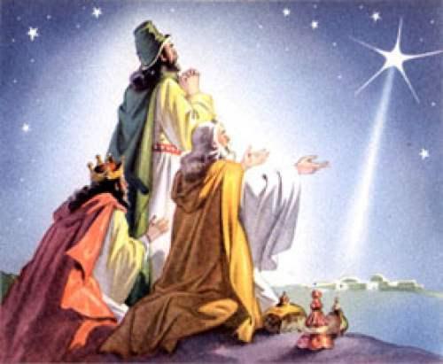 Datas Festivas - Um potsl alusivo as oferendas dos 3 reis magos: Ouro, incenso e mirra!