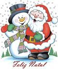 Clique na imagem para enviar o postal: Amigo do Pai Natal