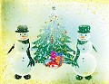Postais de Pintura Natalícia