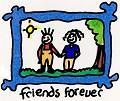 Postais de Friends Forever