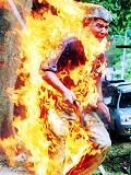Postais de Em chamas