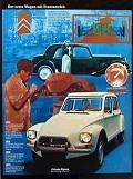 Postais de Citroën Dyane