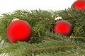 Postais de Natal com cor