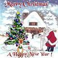 Postais de Feliz Natal