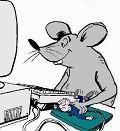 Clique na imagem para enviar o postal: Rato de PC
