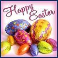 Clique na imagem para enviar o postal: Happy Easter