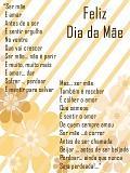 Postais de Poema Dia da Mãe