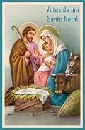 Clique na imagem para enviar o postal: Santo Natal
