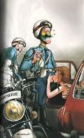Postais de Polícia e mulheres