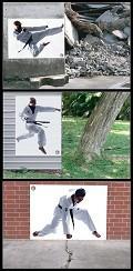 Postais de Kung Fu
