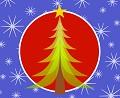 Postais de Natal estrelado ...