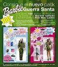 Postais de Barbie Guerra Santa