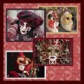 Postais de Máscaras Veneza